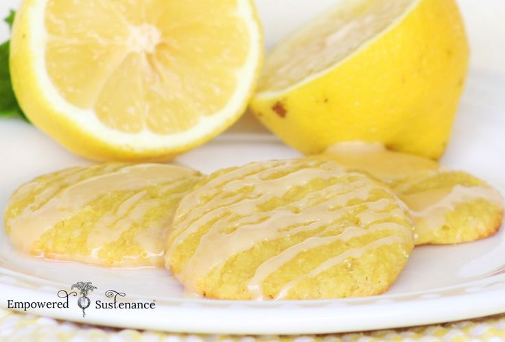 These cakey paleo lemon cookies are drizzled with a lemon glaze. Grain/dairy/nut/seed/egg free and Autoimmune Paleo friendly.