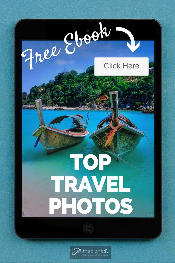 Adventure is for Everyone! Choose to make adventure and travel part of your life TODAY and receive this Free ebook with our 50 favorite travel photos to start feeling adventurous right away | The Planet D