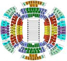 New Orleans SAINTS vs Atlanta Falcons- 2 tickets 12/24/17 SOLD OUT Great Seats!!