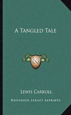 Read #LewisCarroll - #ATangledTale here at #BookStack - http://bookstackonline.blogspot.com/2014/09/lewis-carroll.html  Read #BookReview - http://bookstackonline.blogspot.com/2015/04/lewis-carroll-tangled-tale-book-review.html