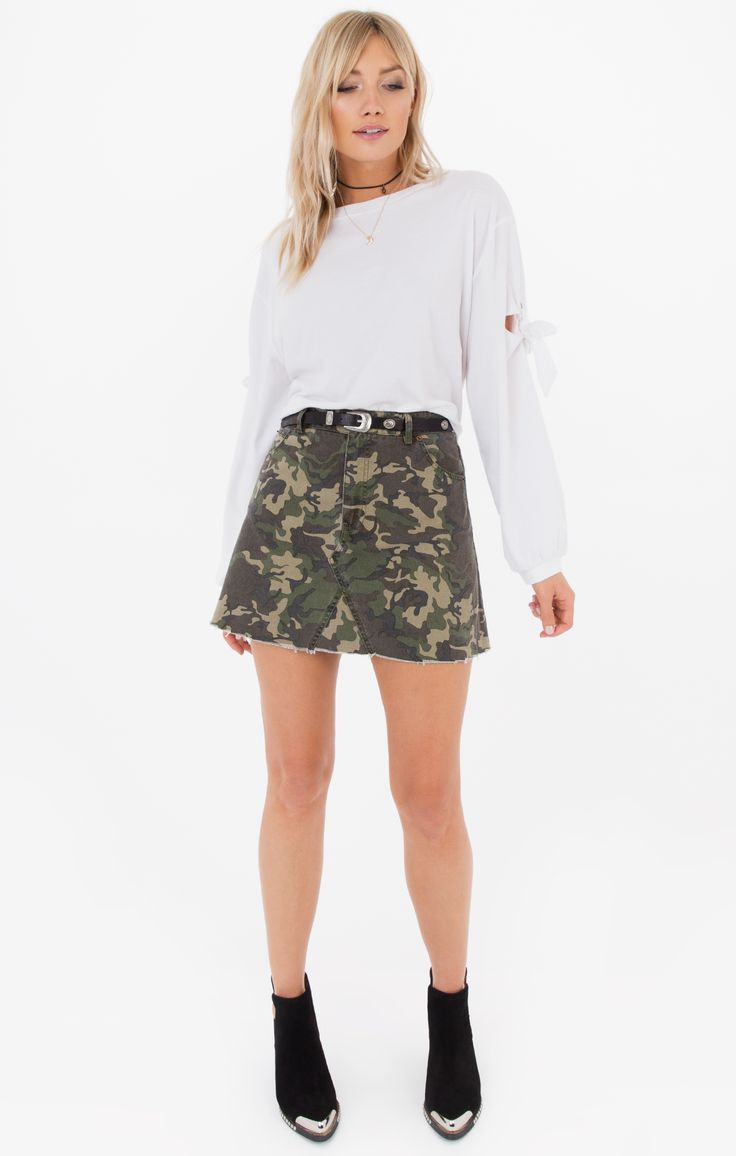 Battlefield Camo Skirt / Style is Simple