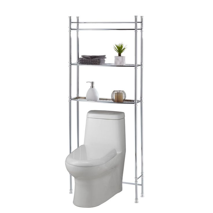 Fantastic In An Instant, This Accessory Creates Display And Storage Space In Even The Smallest Of Bathrooms! Two Display Shelves Are Perfect For Soaps, Lotions, And Any Other