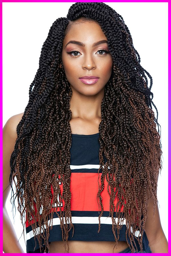 How To Looking Stylish In 2020 With Long Length Curly Braided Hair In 2020 In 2020 American Hairstyles Hair Styles Braided Hairstyles