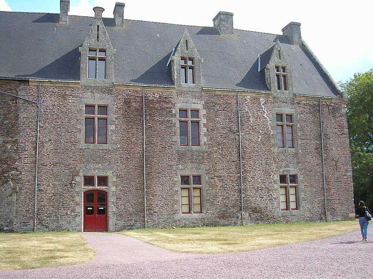 Brocéliande Château de Comper. Foret de Brocéliande,Bretagne,France