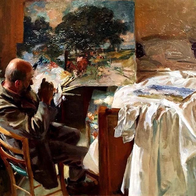 John Singer Sargent; An Artist in his Studio. ____________