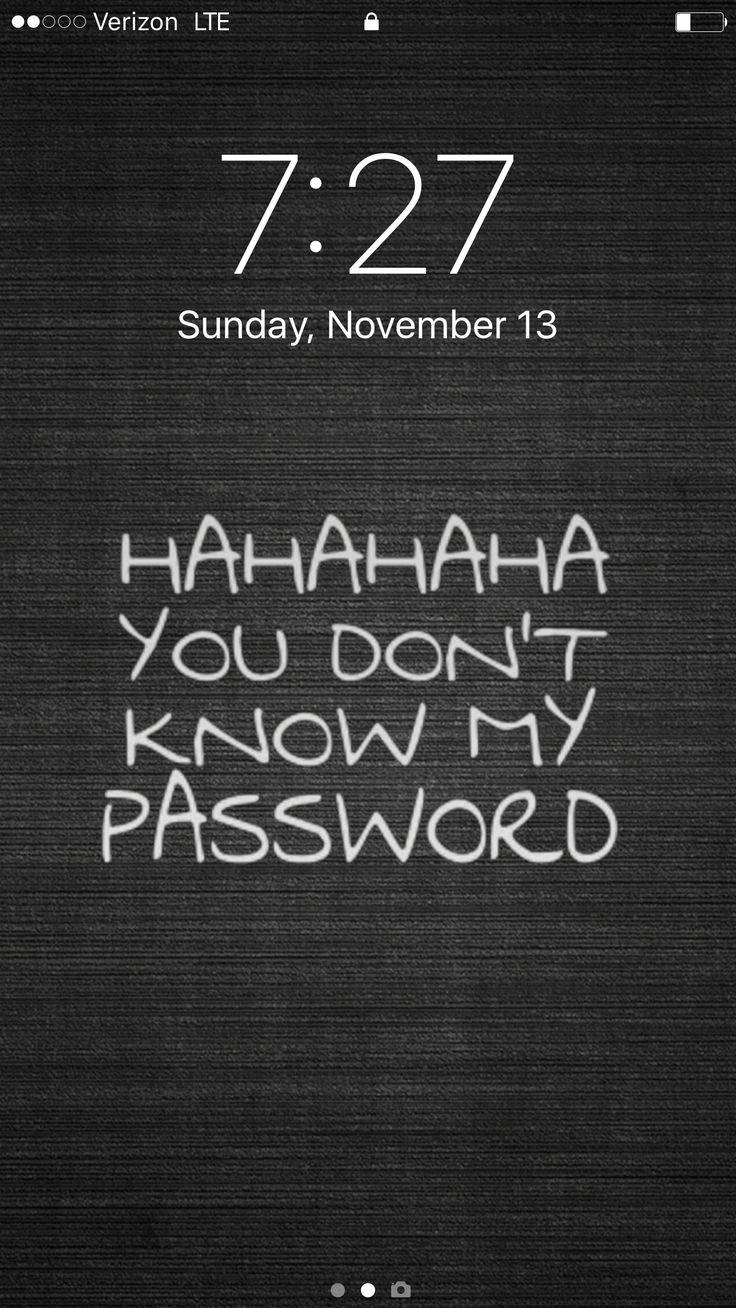 Best lock screen ever!!!