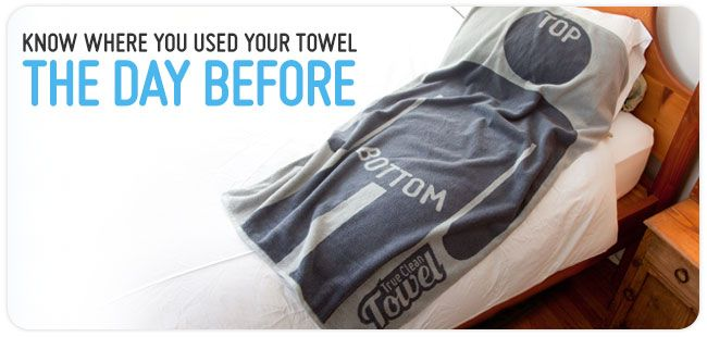 The Cleanest Towel Out There. A very funny gift idea!