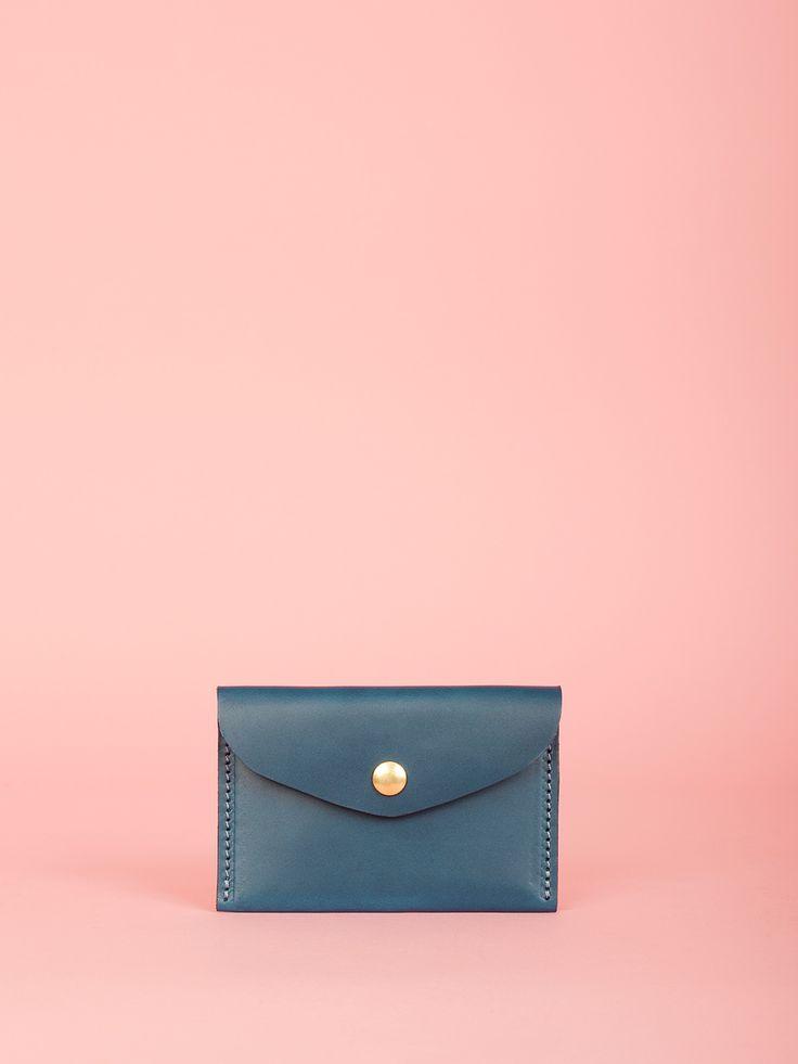 George - Indigo Leather Bag, Mimi Berry SS16