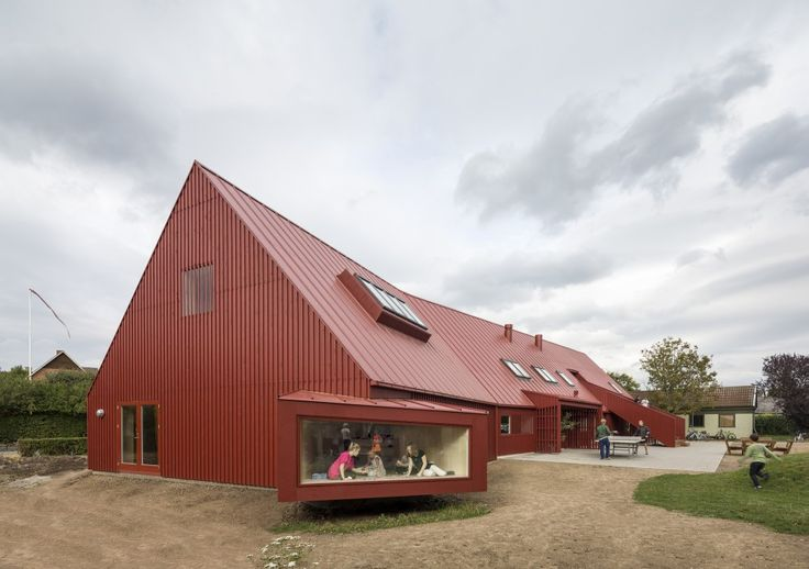 Youth Centre in Roskilde, Denmark. By Cornelius + Vöge. #allgoodthings #danish #architecture spotted by @missdesignsays via @ArchDaily