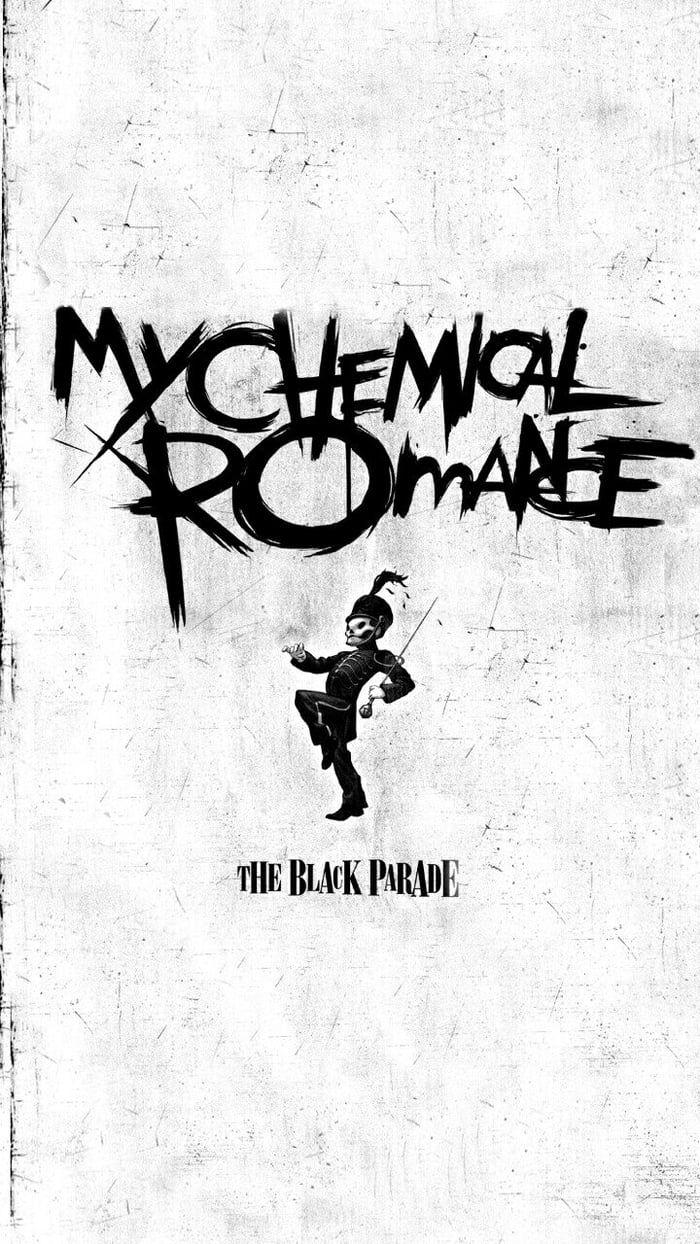 The Black Parade My Chemical Romance Wallpaper Emo Wallpaper Black Parade