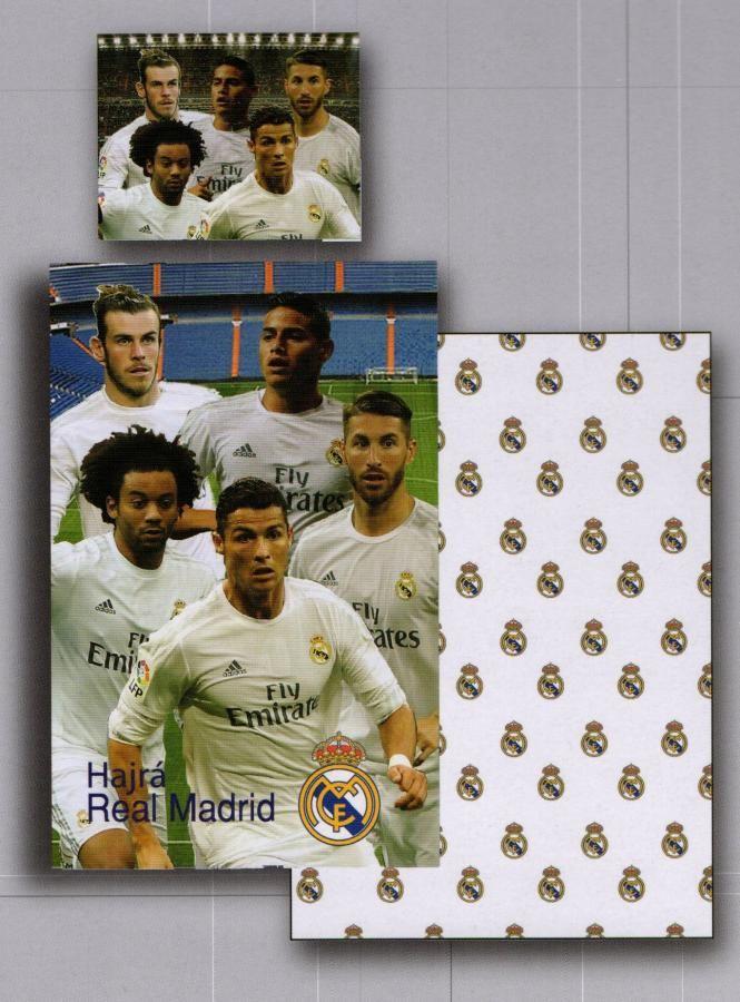 Cactus Clone obliečky Bavlna Real Madrid hráči 140x200, 70x90