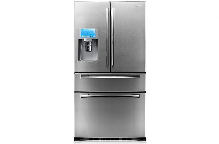Samsung 801L French Door Fridge with Wi-Fi Capability from Domayne Online