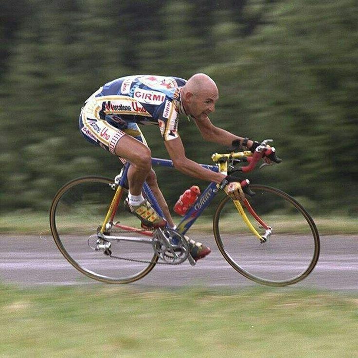 Marco #Pantani con la @wiliertriestina da crono #lovemywilier