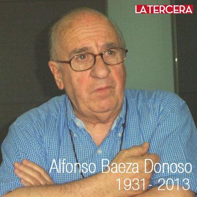 A los 82 años falleció el sacerdote Alfonso Baeza Donoso.