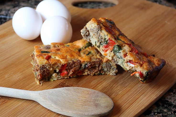 Eggceptional Sausage Keto Frittata