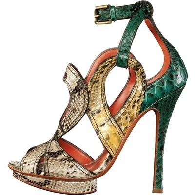 Sandalo in alligatore con - Scarpe - Tom Ford - Style.it