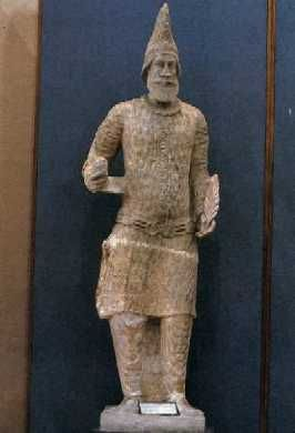 Statue of Parthian King from Hatra Iraq