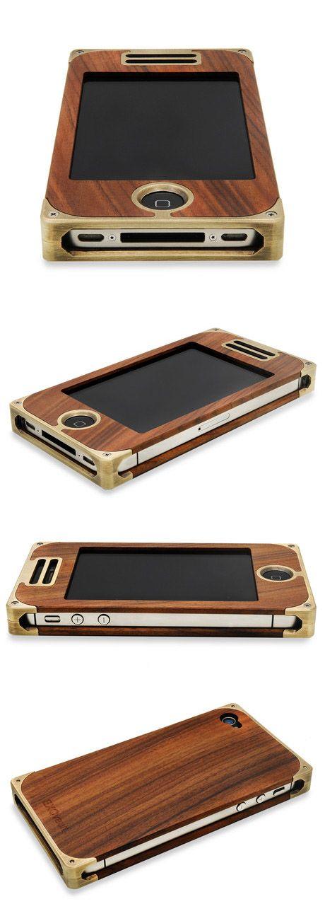 Gorgeous!!! I'd love it in Koa please! Brass and Pau Ferro iPhone Case ( www.touchofmodern... )