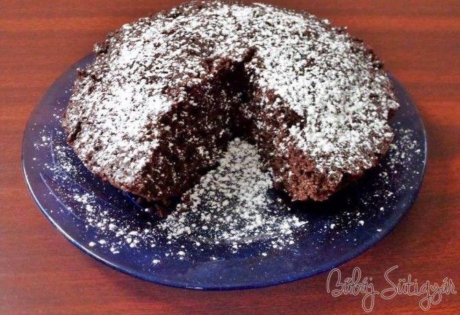4 perces mikrós csokis süti