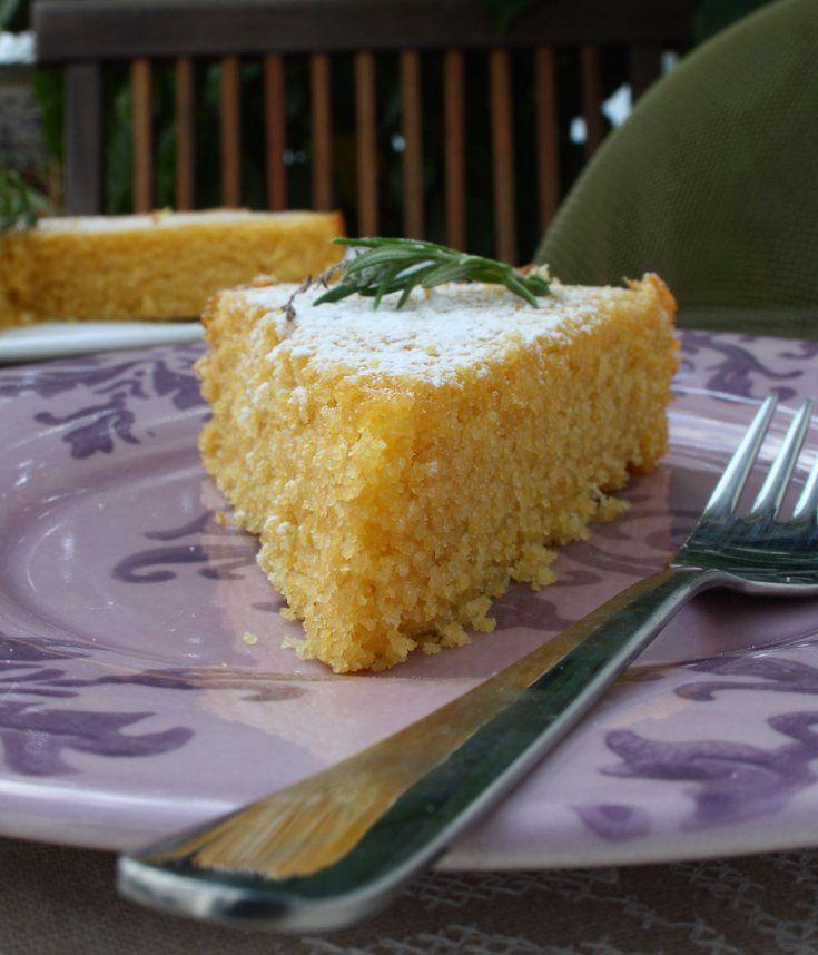 Lemon Polenta Cake | Food and Drink | Pinterest