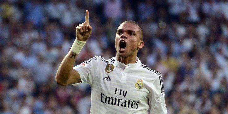 Agen Bola Terpercaya – Hasil Imbang Bek Real Madrid Menyalahkan Wasit – Bek Real Madrid, Pepe mengecam kepemimpinan wasit Carlos Clos yang memimpin pertandingan