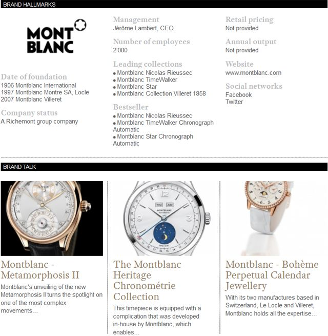 Discover the Montblanc's latest news and novelties on WtheJournal.com @montb