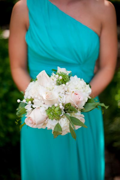 Classic Turquoise Wedding by Rebekah Hoyt - Southern Weddings Magazine