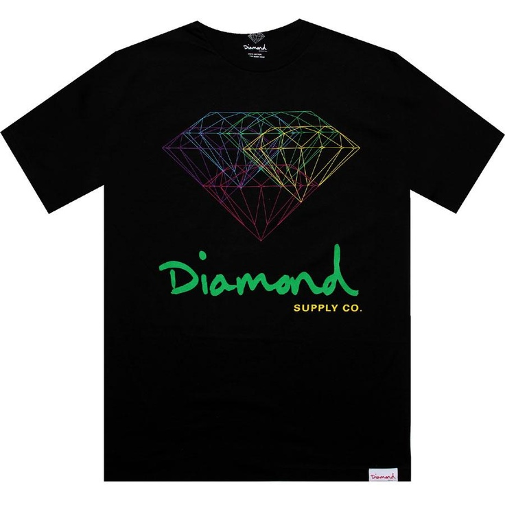 Diamond Supply Company All For One Tshirt in black