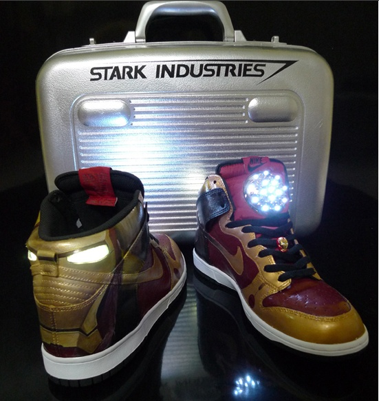 Limited Edition Stark Industries Nike Dunks