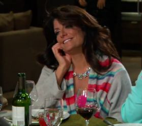 Kathy Wakile's Crystal Necklace at Melissa's Birthday Dinner | Big Blonde Hair : Big Blonde Hair http://www.bigblondehair.com/real-housewives/rhonj/kathy-wakiles-crystal-necklace-melissas-birthday-dinner/