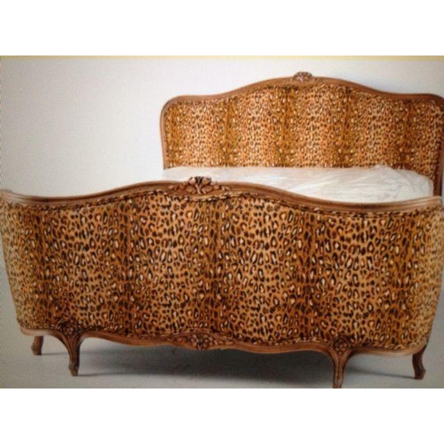 Love it leopard bed style interior design decor home