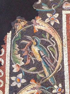 Zeus and Ganymede (detail of mosaic) Roman, mid-Imperial, 2nd century A.D. On loan from a private collection, Belgium (Metropolitan Museum of Art)