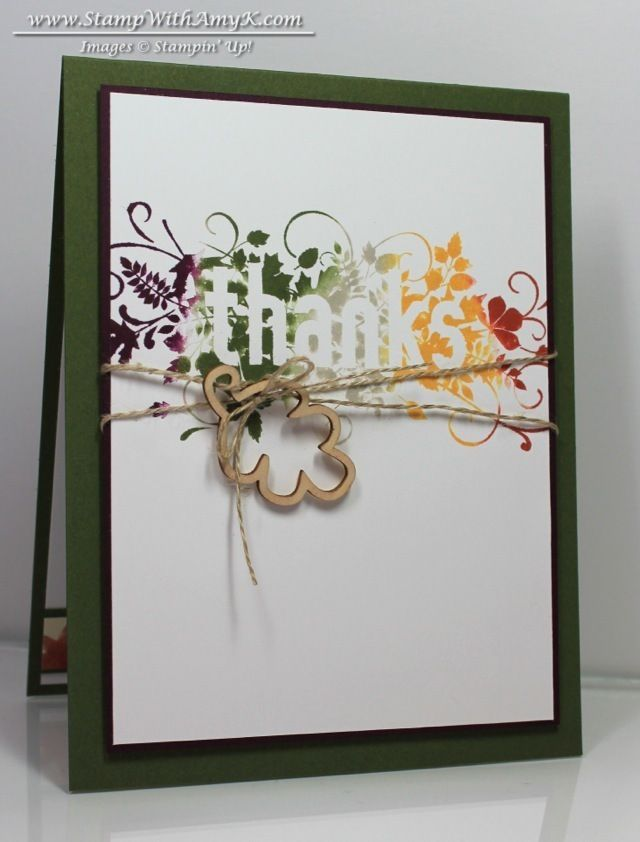 Seasonally Scattered - Stampin' Up! - Stamp With Amy K