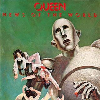 Queen - News of the World album cover [1977]