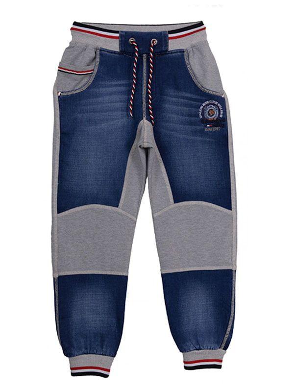 Blue Jeans mit Strickeinsätzen – Ayugi …