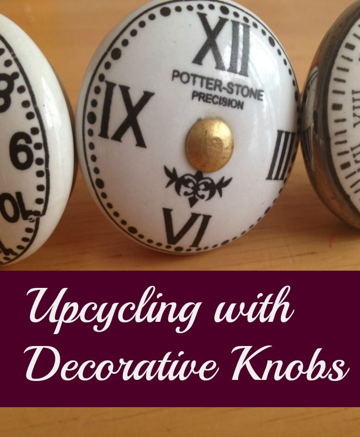 Upcycling with decorative knobs 133 best Upcycling