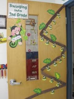 Savvy Second Graders: Monkey Classroom Theme