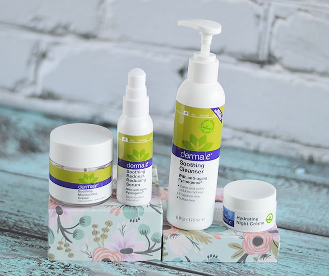 derma e Soothing Skincare Review