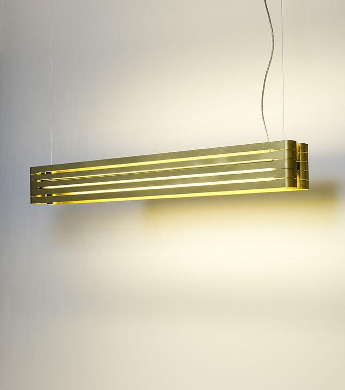 suspended linear lighting. ORGUE | DARK® #lighting #orgue #led #dark #darlings #design Suspended Linear Lighting