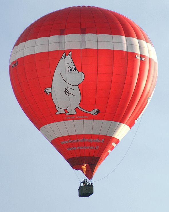 Moomin hot air balloon