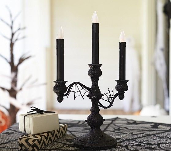 Glitter Flicker Candelabra 39 Pottery Barn Kids