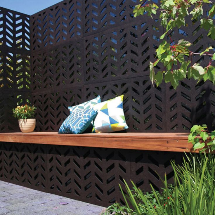 Herringbone Design  1200 mm(H) x 600 mm(W) Panels. 80% Privacy/ Blockout. Available at Chippy's Outdoor