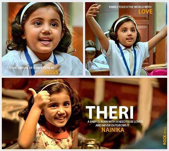 Cutest-Adorable Baby #Nainika in #Theri <3