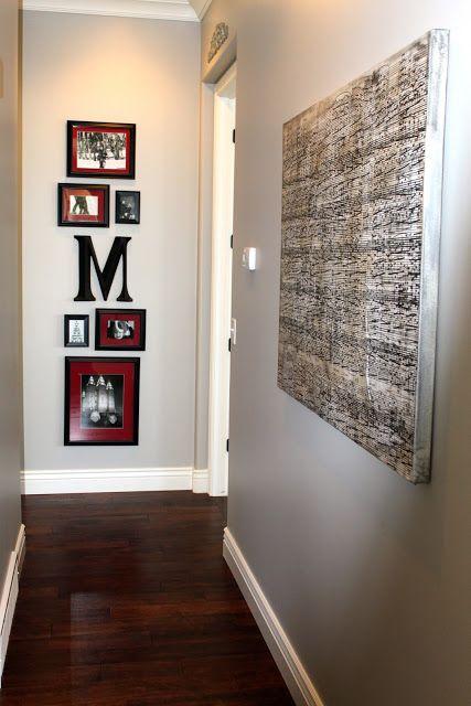 Love this frame arrangement