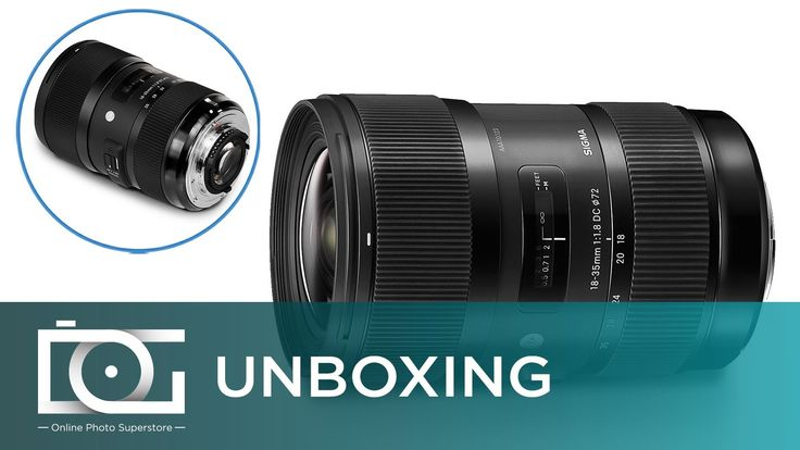 awesome UNBOXING REVIEW | SIGMA 18-35mm F1.8 DC Art Series DSLR Camera Lens for CANON (210101)