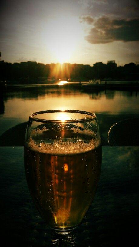 Beer sunshine