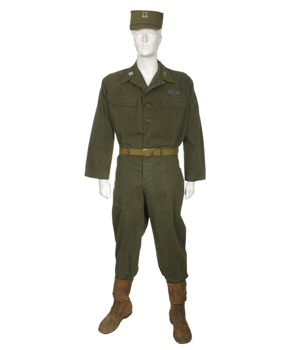 Army Fatigue Uniform Summer Korean War