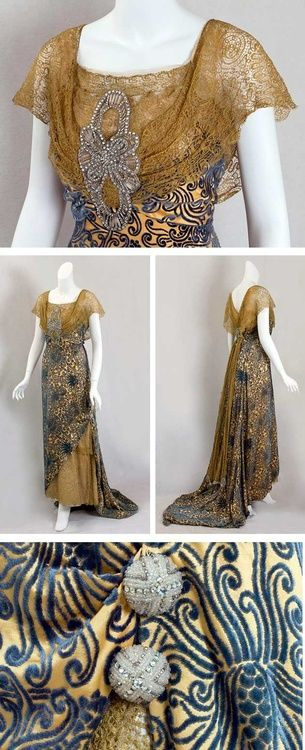 ~Edwardian Dinner Gown~