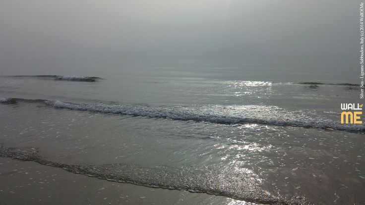 2014, week 46. Silver Sea in Autumn - Lignano Sabbiadoro - Italy.  Picture taken: 2014, 10