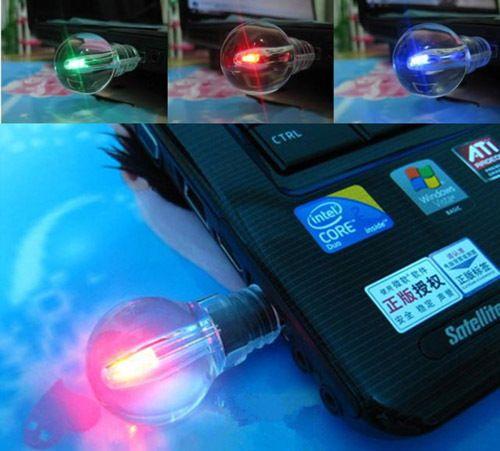 Горячая распродажа 8 ГБ лампы освещенные лампы памяти USB 2.0 флэш ручка привода    бесплатная доставкакупить в магазине one yuan profit wholesale storeнаAliExpress